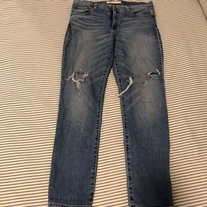 Gap regular straight distressed jeans - 31